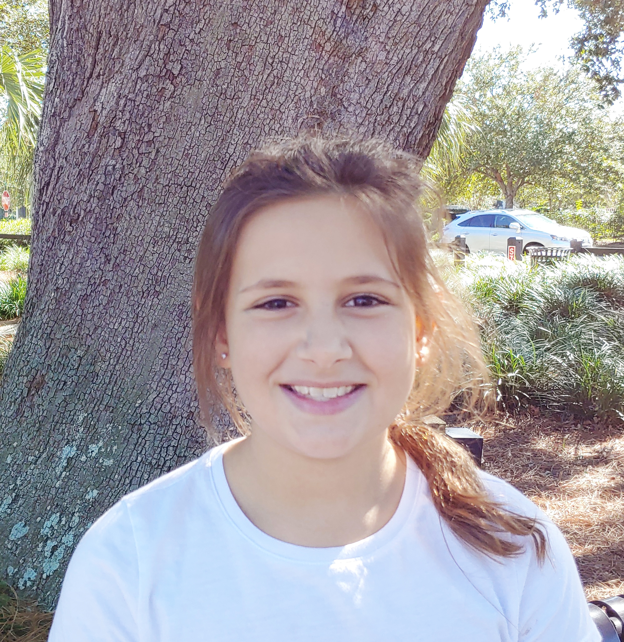 I get inspiration from my family when we talk at dinner.  Abby, Age 10  Columbia