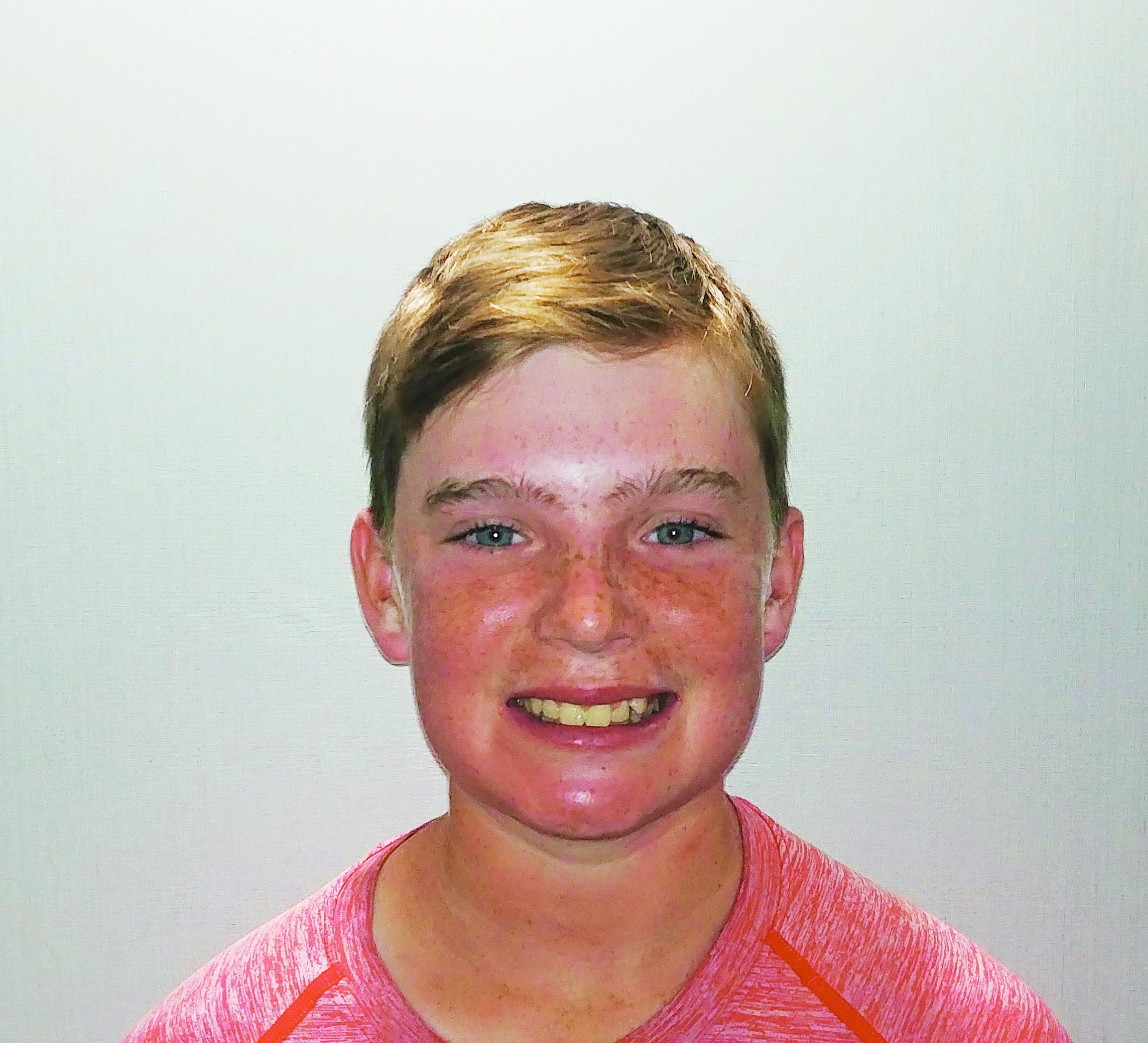 Snowboarding because it looks like a challenge.  Aidan  Age 13