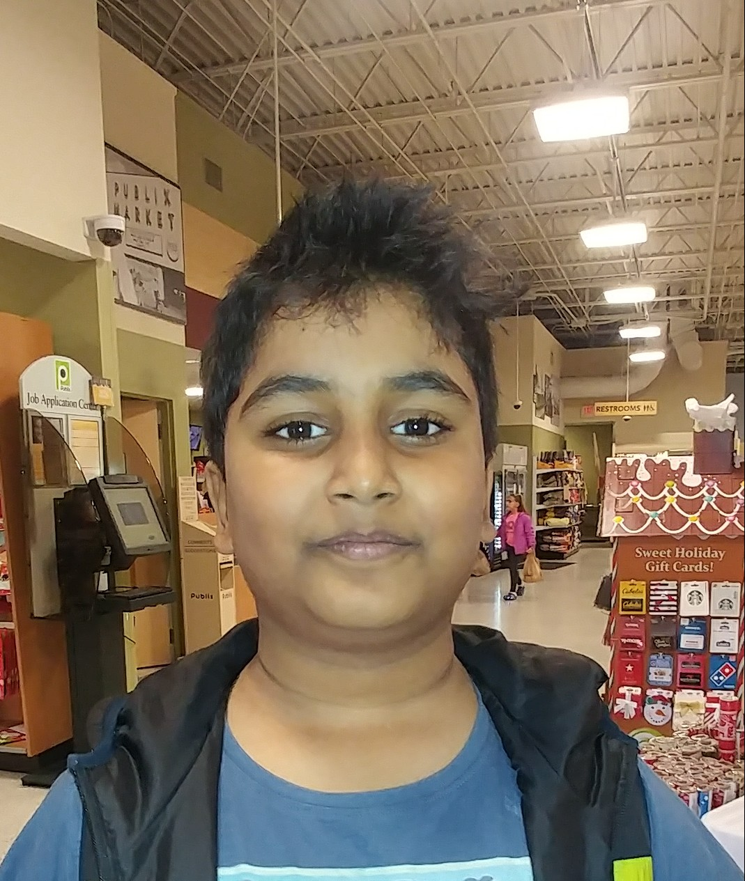 A pilot because I have a lot of interest in planes.  Aneesh  Age 10