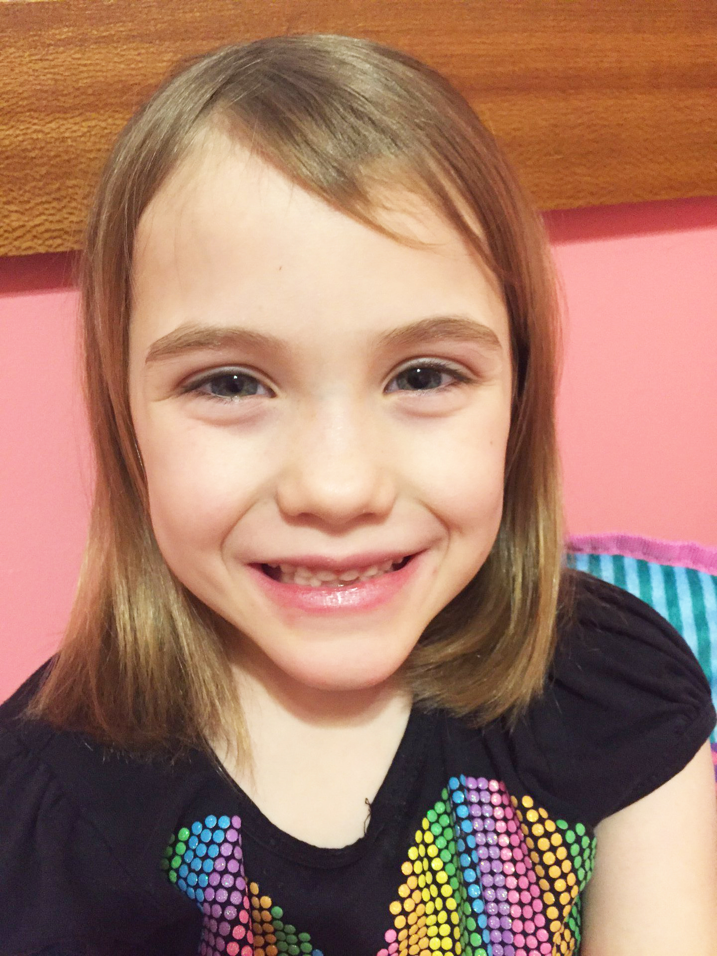 At church, and it was memorable having a friendship with my friend.  Anna, age 7  Bremen, Indiana