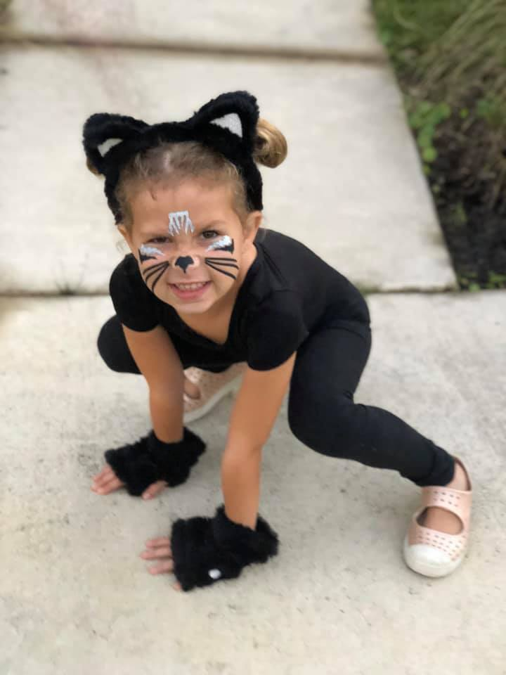 Ava Auricchio, 6, is a cute cat.