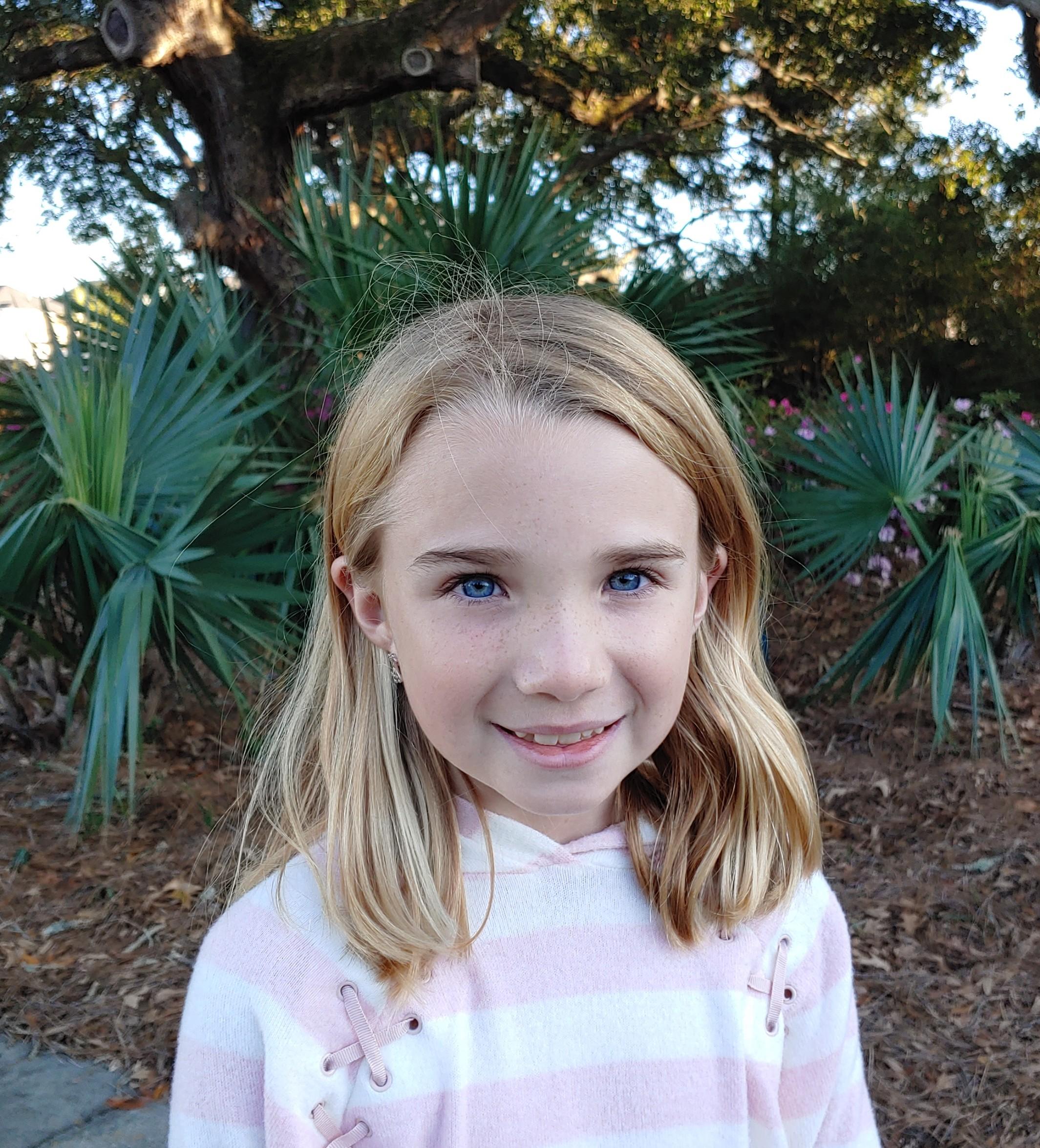 I am inspired by my teacher in school.  Avery, Age 9  Daniel Island