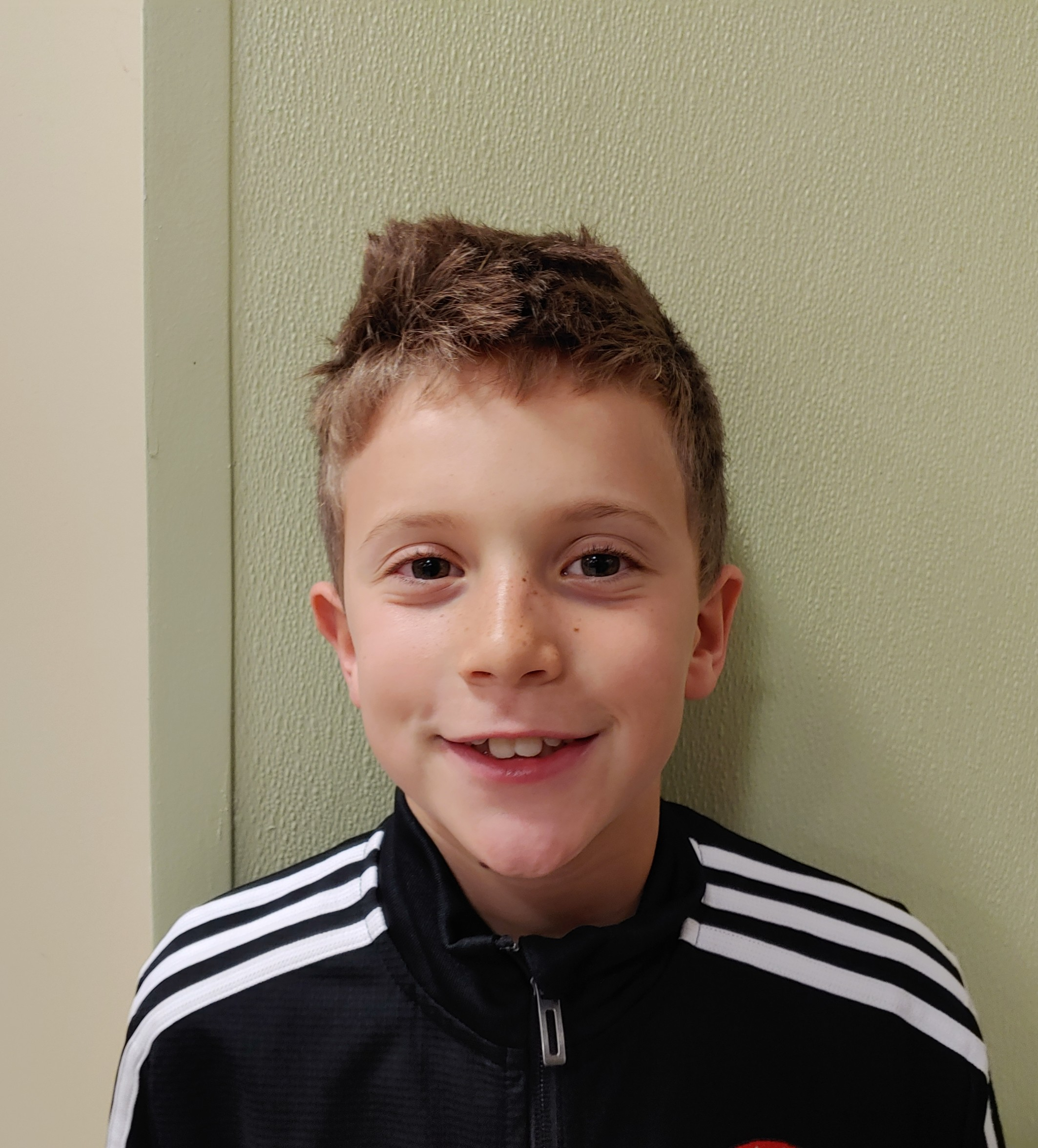 I want to score goals for DISA.  Caden, age 9  Daniel Island