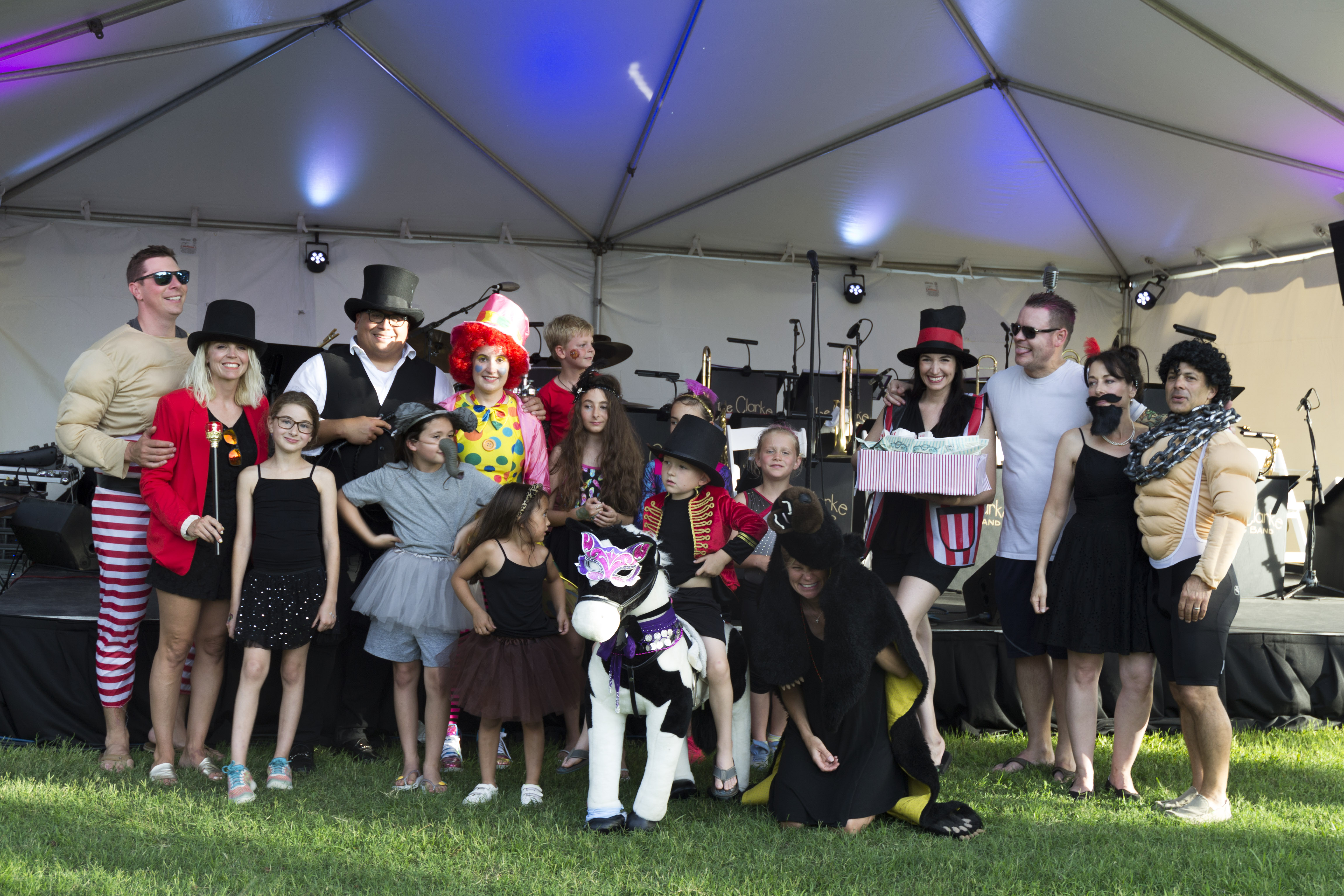 """The """"This Is Us"""" tent won first place for most elaborate and creative picnic spread. The group donated their $250 in prize money to the Charleston Animal Society."""