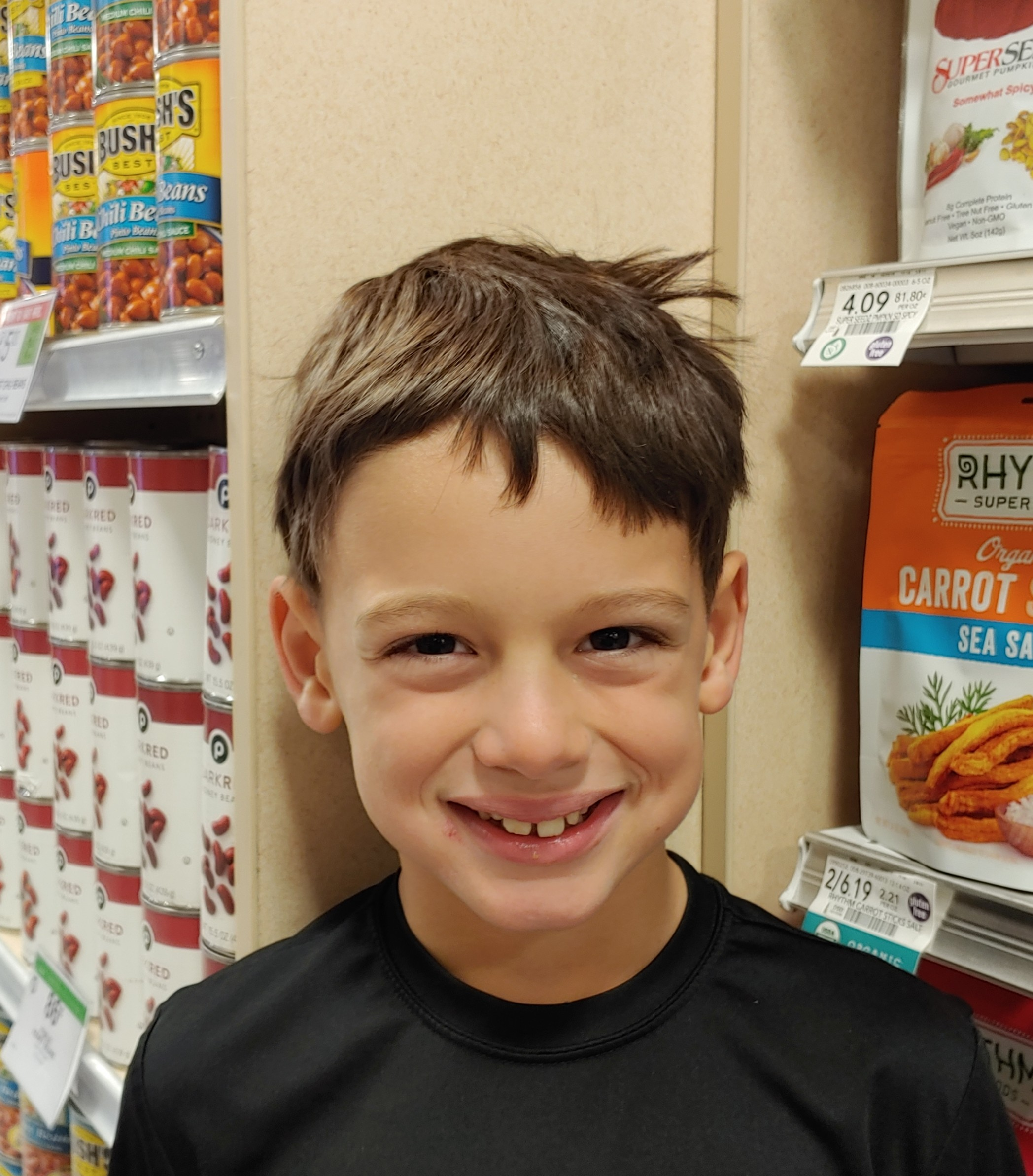 My favorite cake is vanilla ice cream cake.  Cooper, age 7  Daniel Island