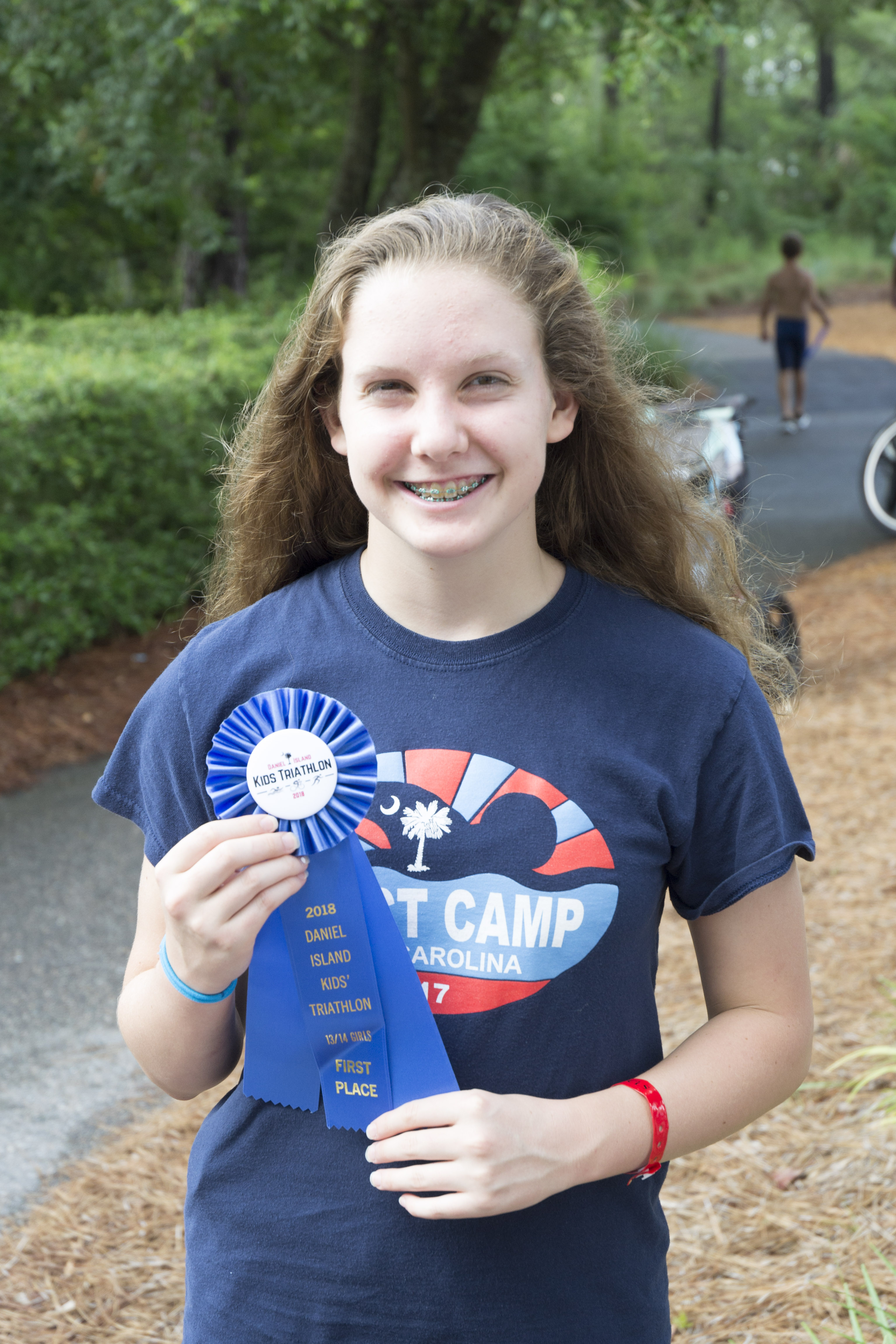 Jill Smiley, first place, 13-14 girls.