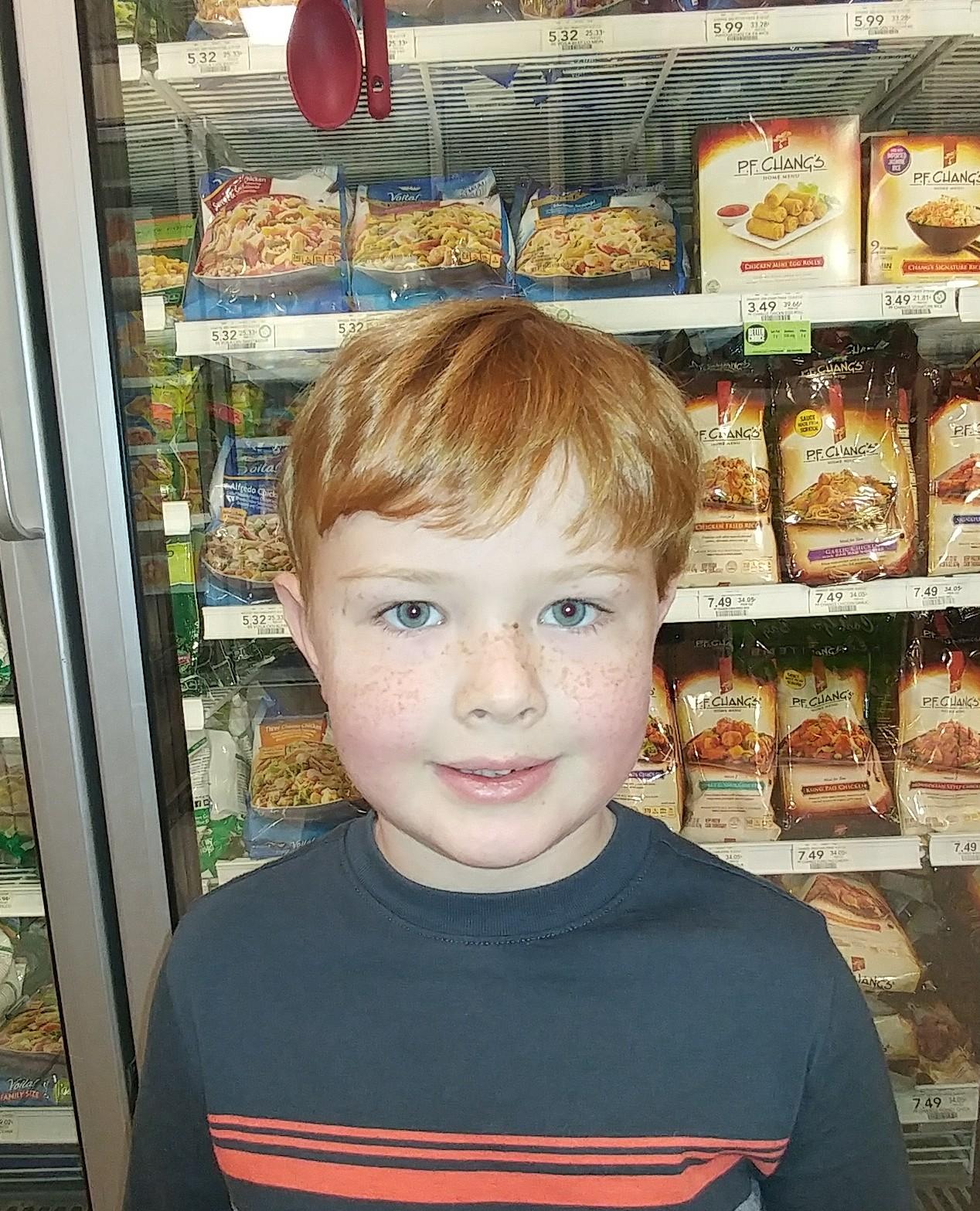 Vegetable soup.  Ellis  Age 6