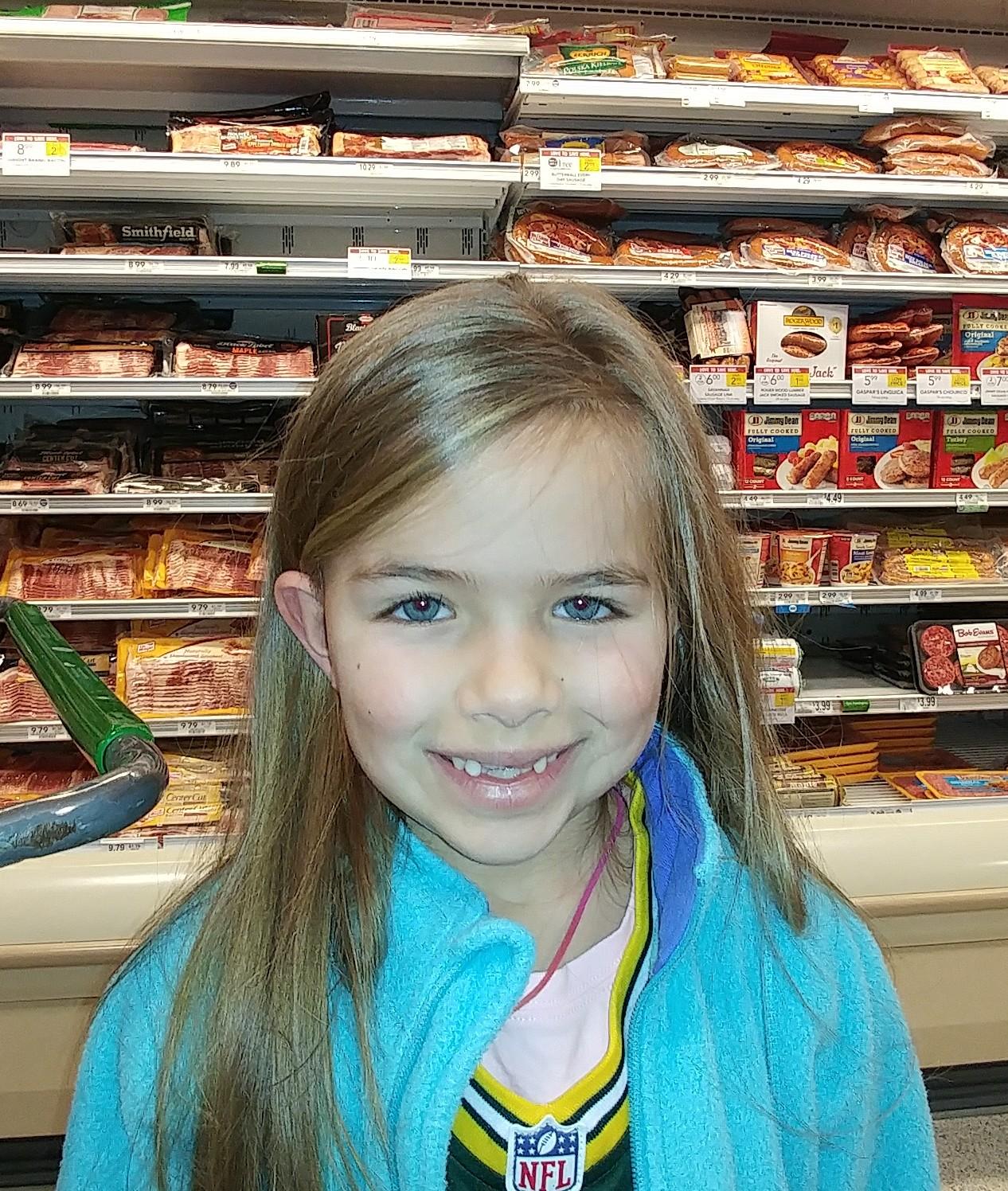 Maryellen from American Girl.  Finley  Age 6