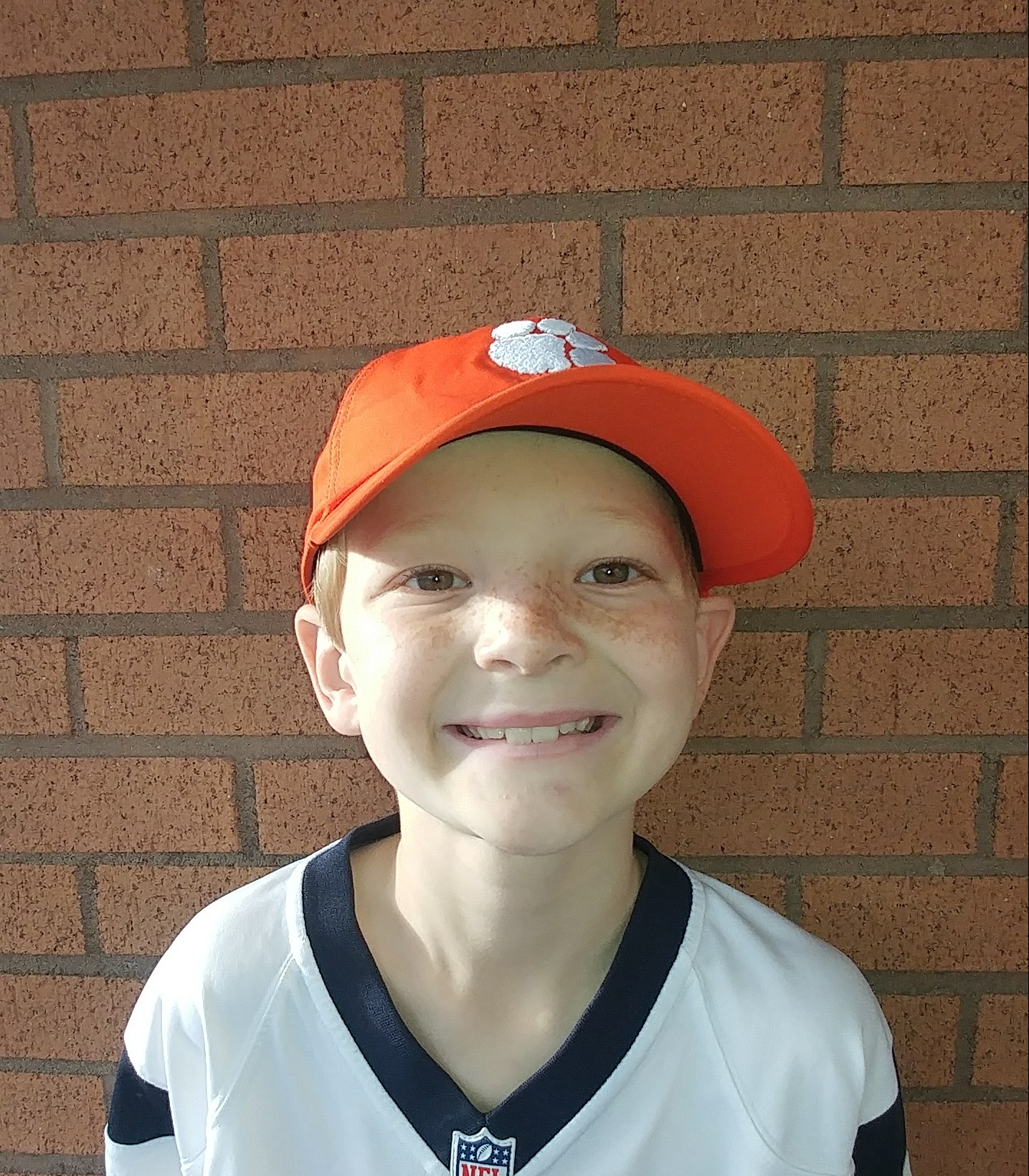 When we went to the National Championship when Clemson beat Alabama.  Hayes  Age 9