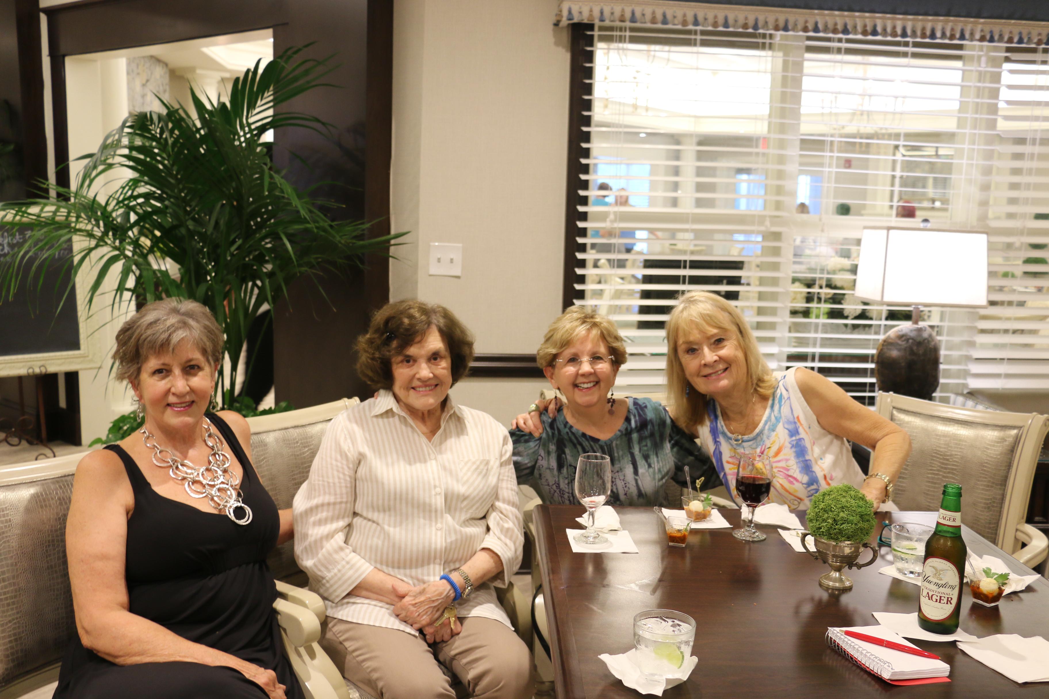 Emalynn Tate, Helen Wagner, Carol Heilman and Kathie Harvey.