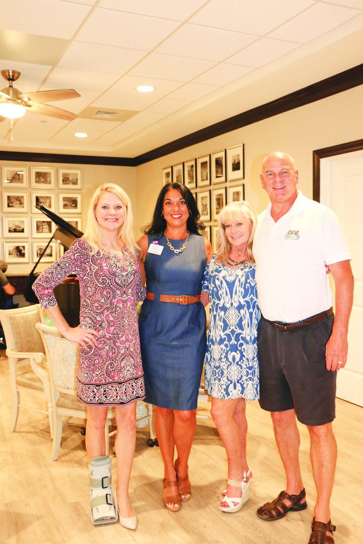 Tiffany Vanek, Laura Rayl, Tammy Cobb and Joel Cardwell.