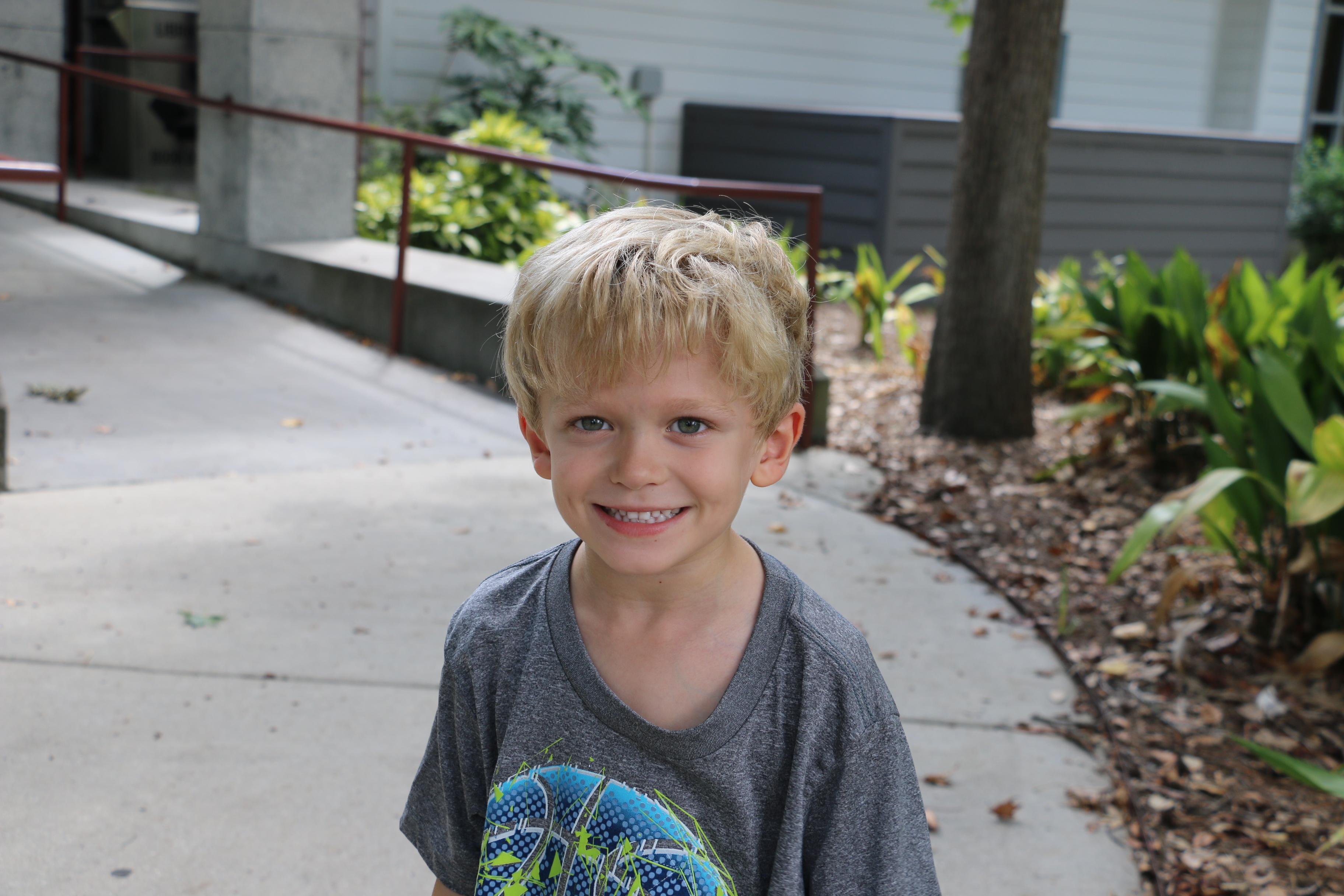 Extra recess. Nathaniel Age 5
