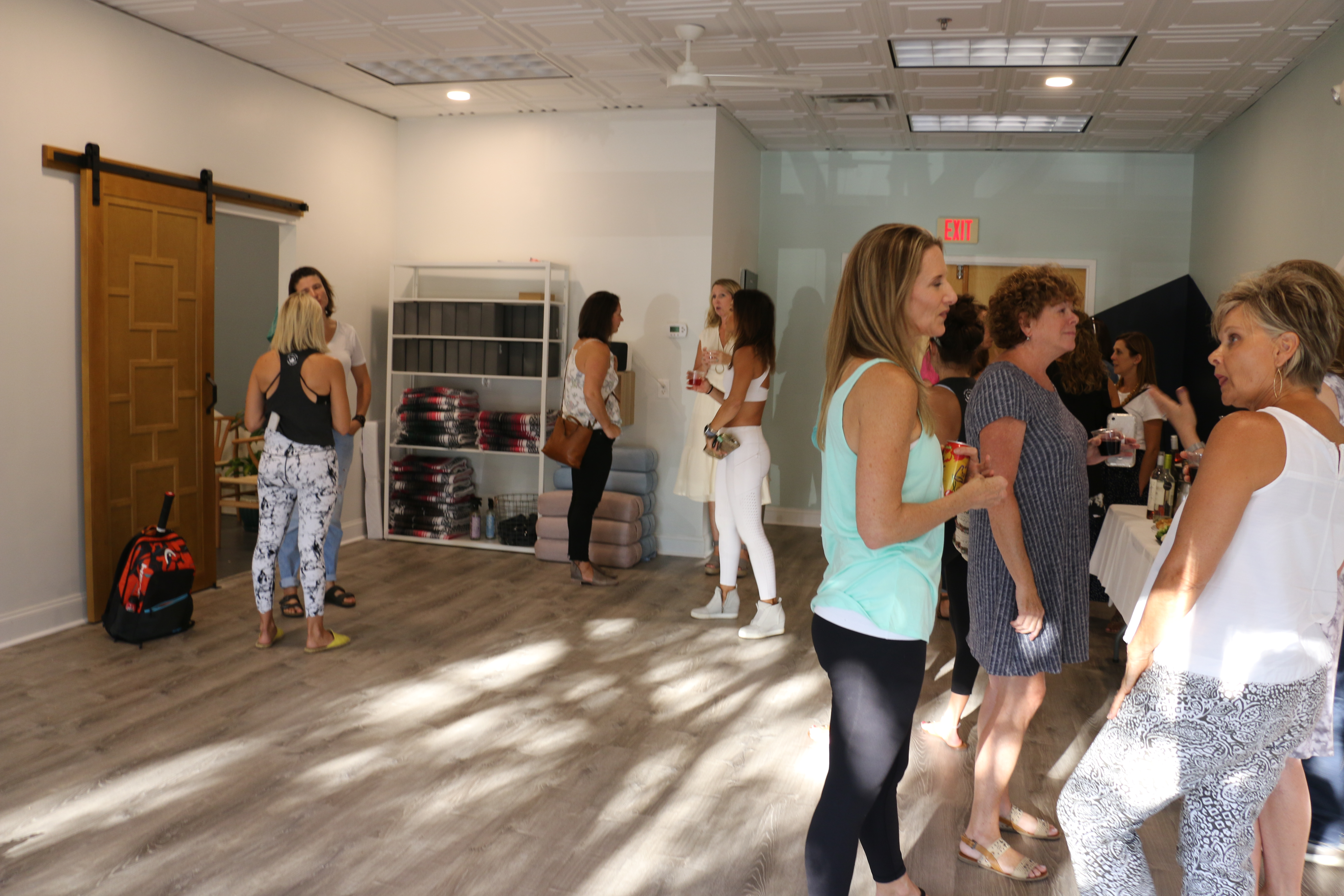 Friends and family got a peek at the interior of the new Revive Yoga Studio at a preview last week.