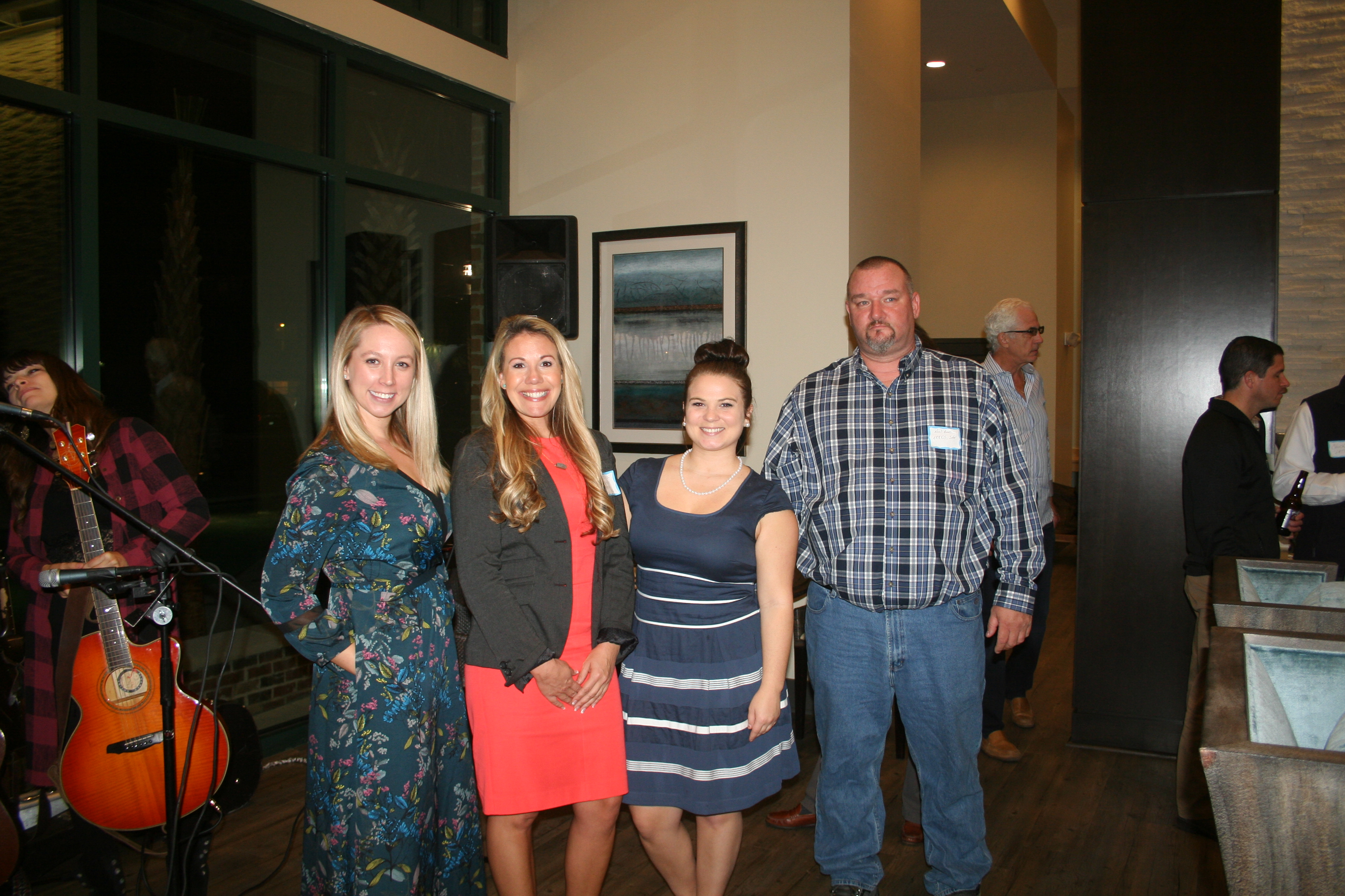 The November DIBA Block Party was sponosred by Megan Pawlowski of Ridehouse, Natasha Brehm and Keri Padgett of Simmons Park Apartments, and Neal Amos of Solar Power.