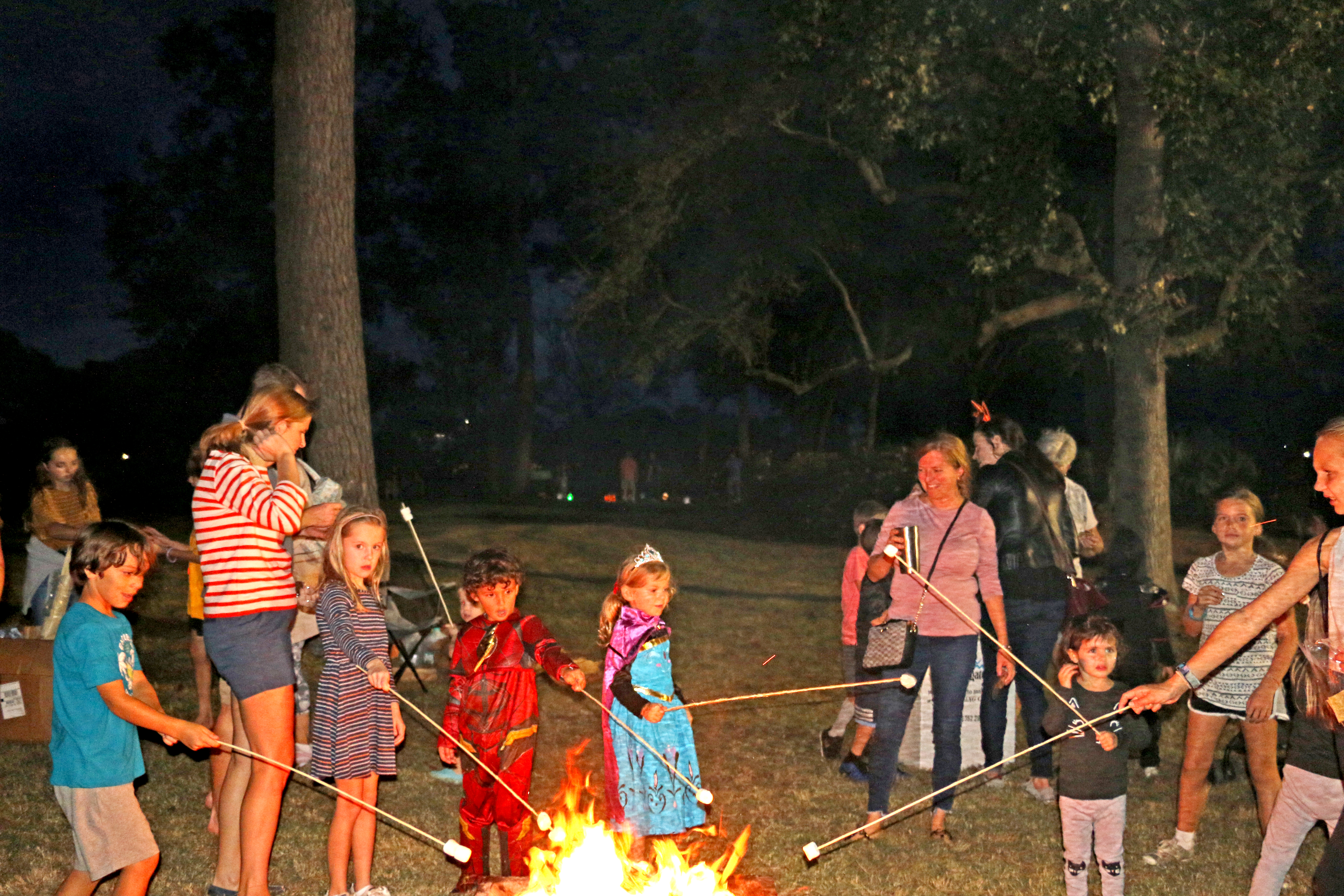 Pumpkins and costumes and roasting marshmallows, oh my!