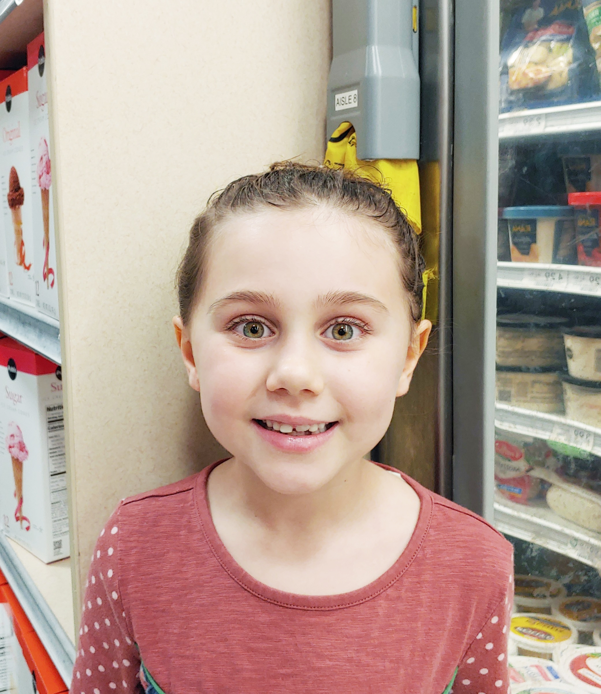 I did it at musical theatre class and it was memorable because it was with my teacher.  Isabella, age 7  Clements Ferry Road area