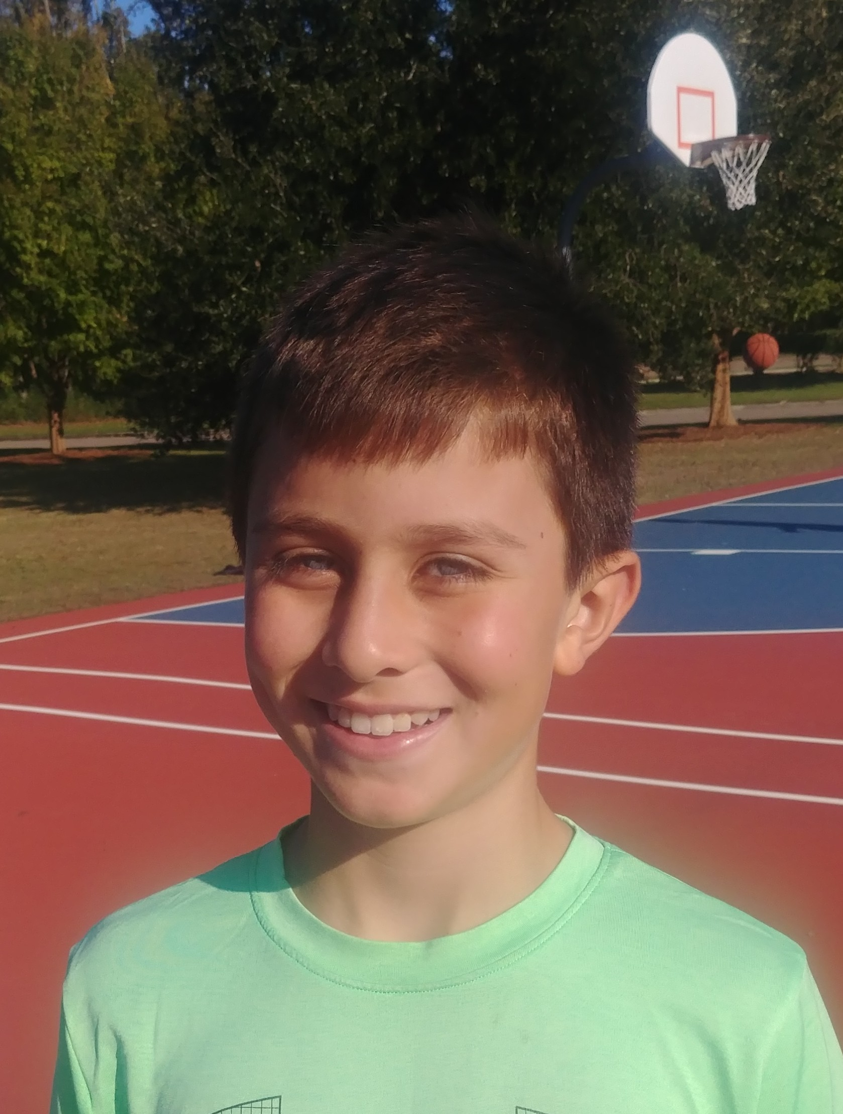 It is going to be called Hoop and Shoot and is going to have basketball jerseys, posters, shoes, and anything related to basketball.   Jackson  Age 10