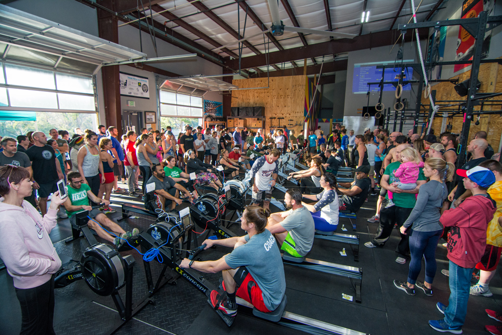 More than 185 participants rowed for the cause at last weekend's Row Raiser at CrossFit Discovery on Daniel Island.