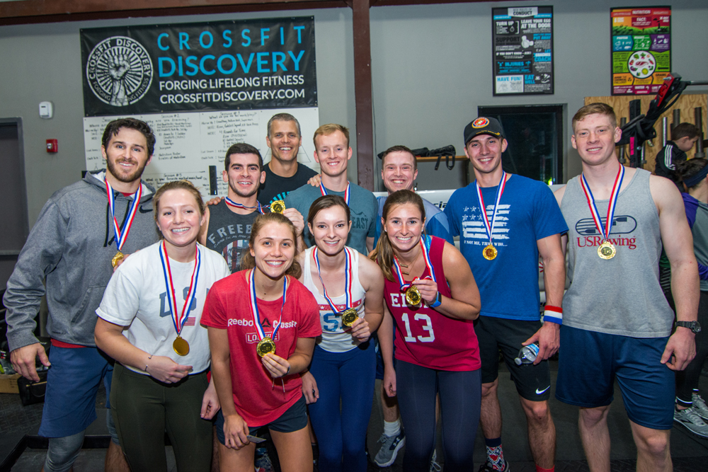 The winning team: CrossFit Discovery Downtown!
