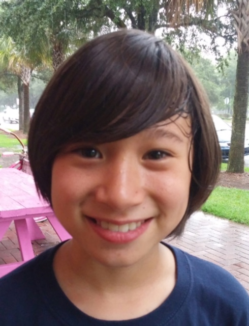 I like to jump in leaves.  Jon Age 9