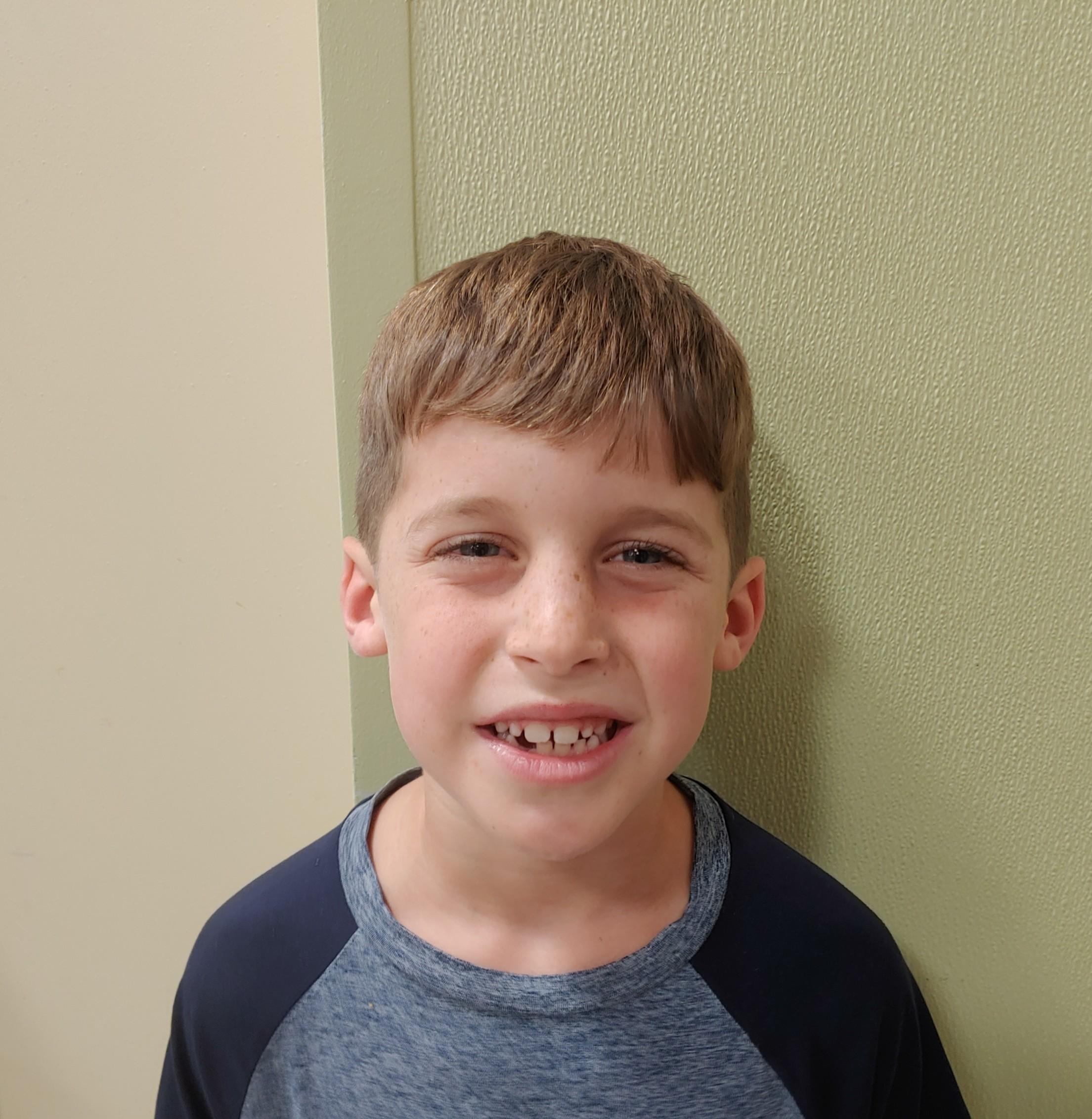I'm raising money for my school through the Daniel Island School Fun Run.  Levi, Age 8 Daniel Island