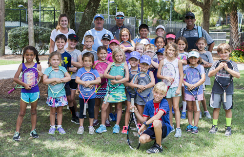 All smiles from the MWTennis campers!