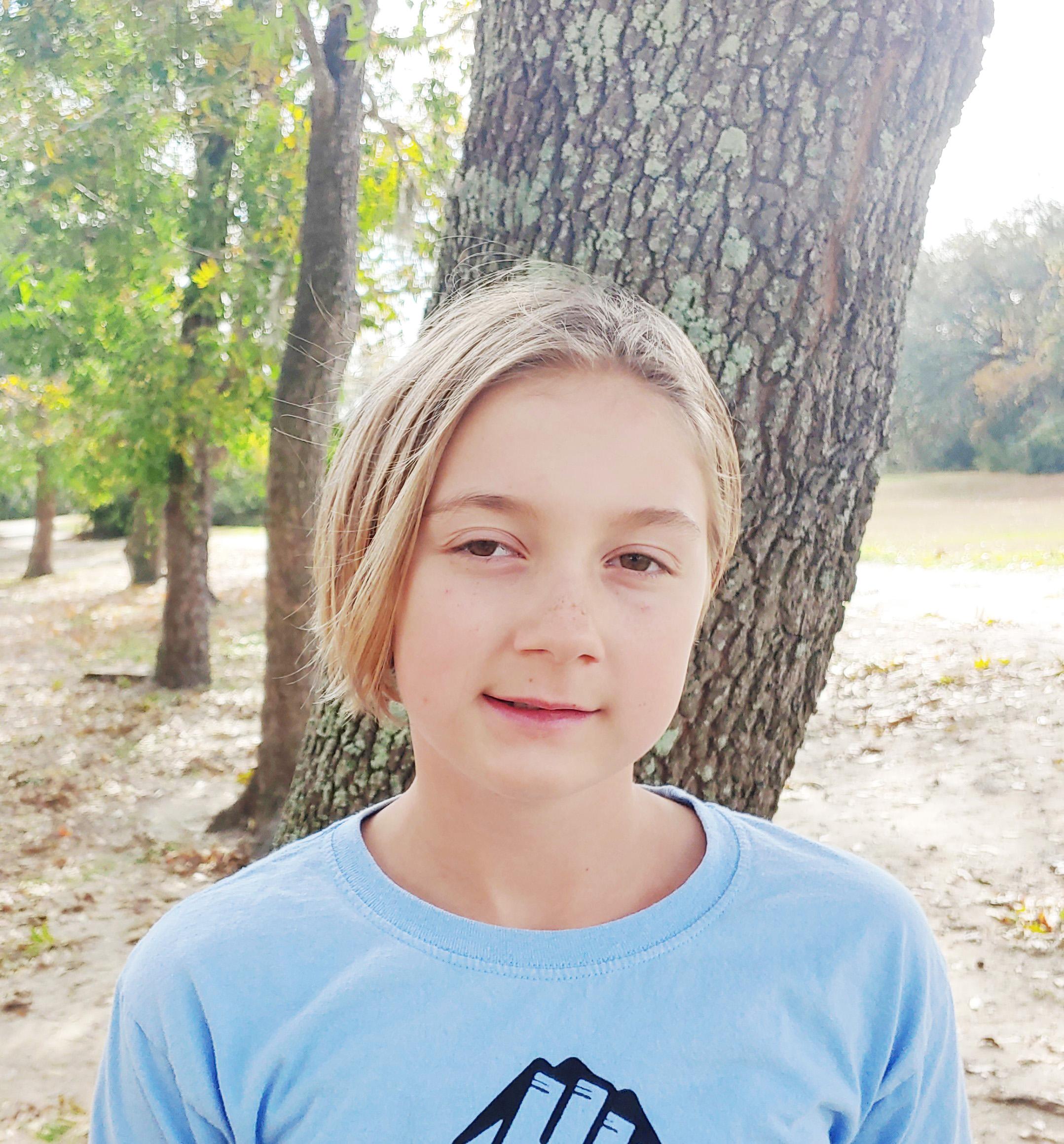 Pie, and my favorite pie is key lime.  Mia, age 11  Daniel Island