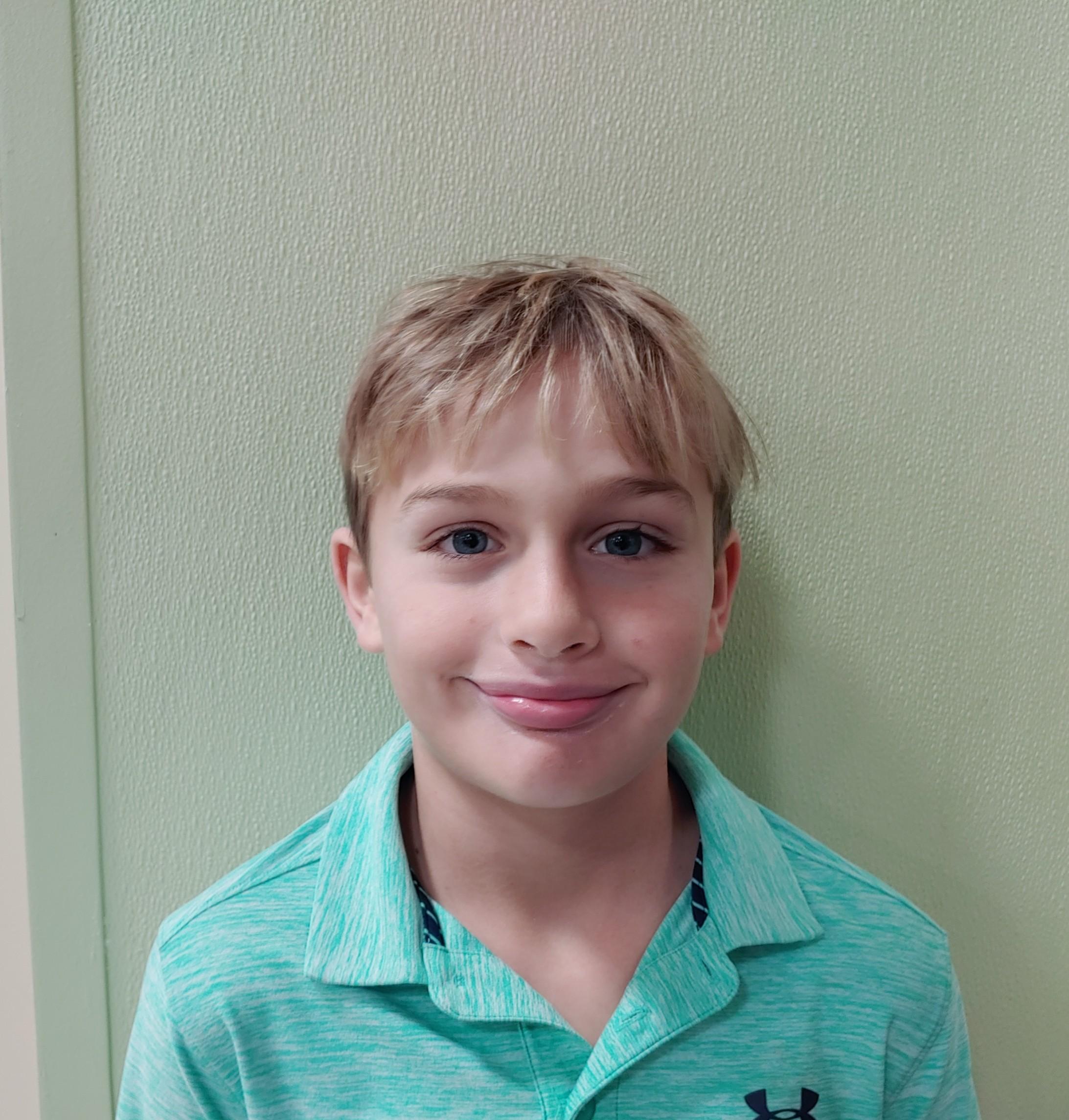 Ramen because it reminds me of spaghetti, but it is better.  Michael, age 9  Daniel Island