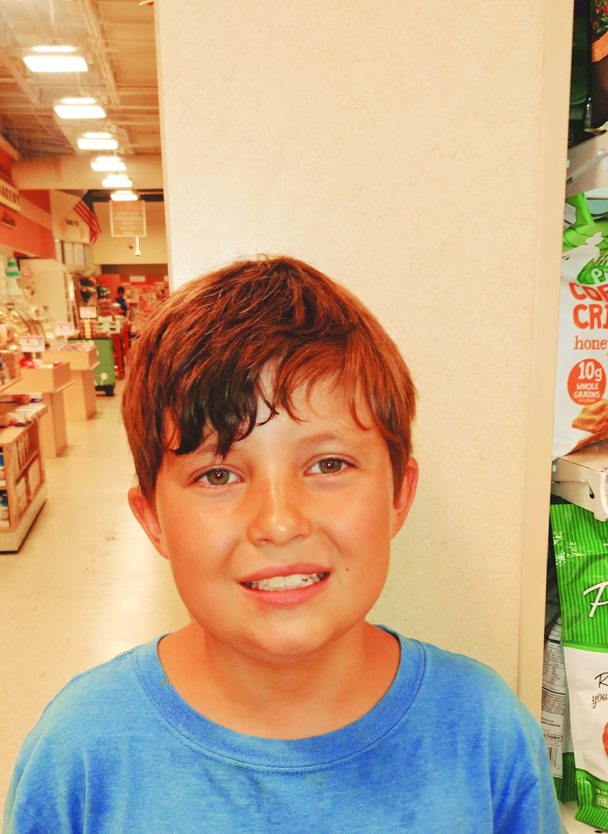 What makes America special is spending time with my friends and family.  Nathan  Age 9