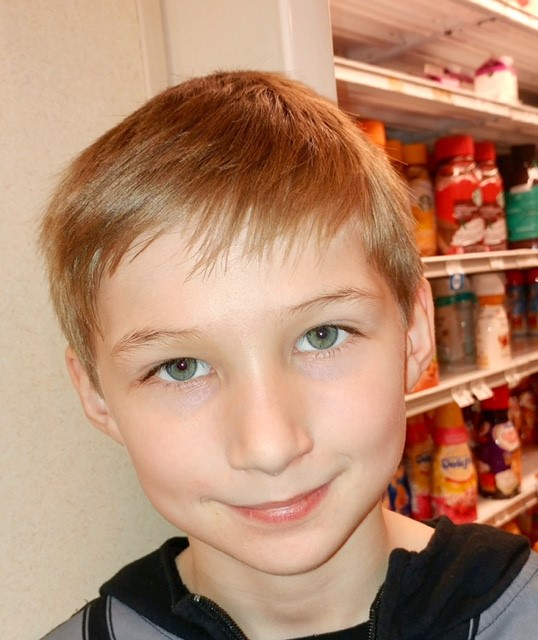 Good health because I know a lot of people who have been sick and I would prefer that they would not be in pain.  Roman  Age 9