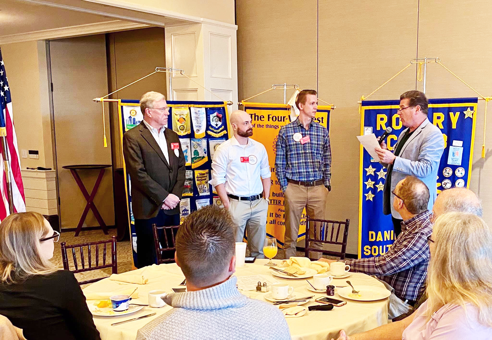 Provided The Rotary Club of Daniel Island added three new members at the Dec. 18 meeting.