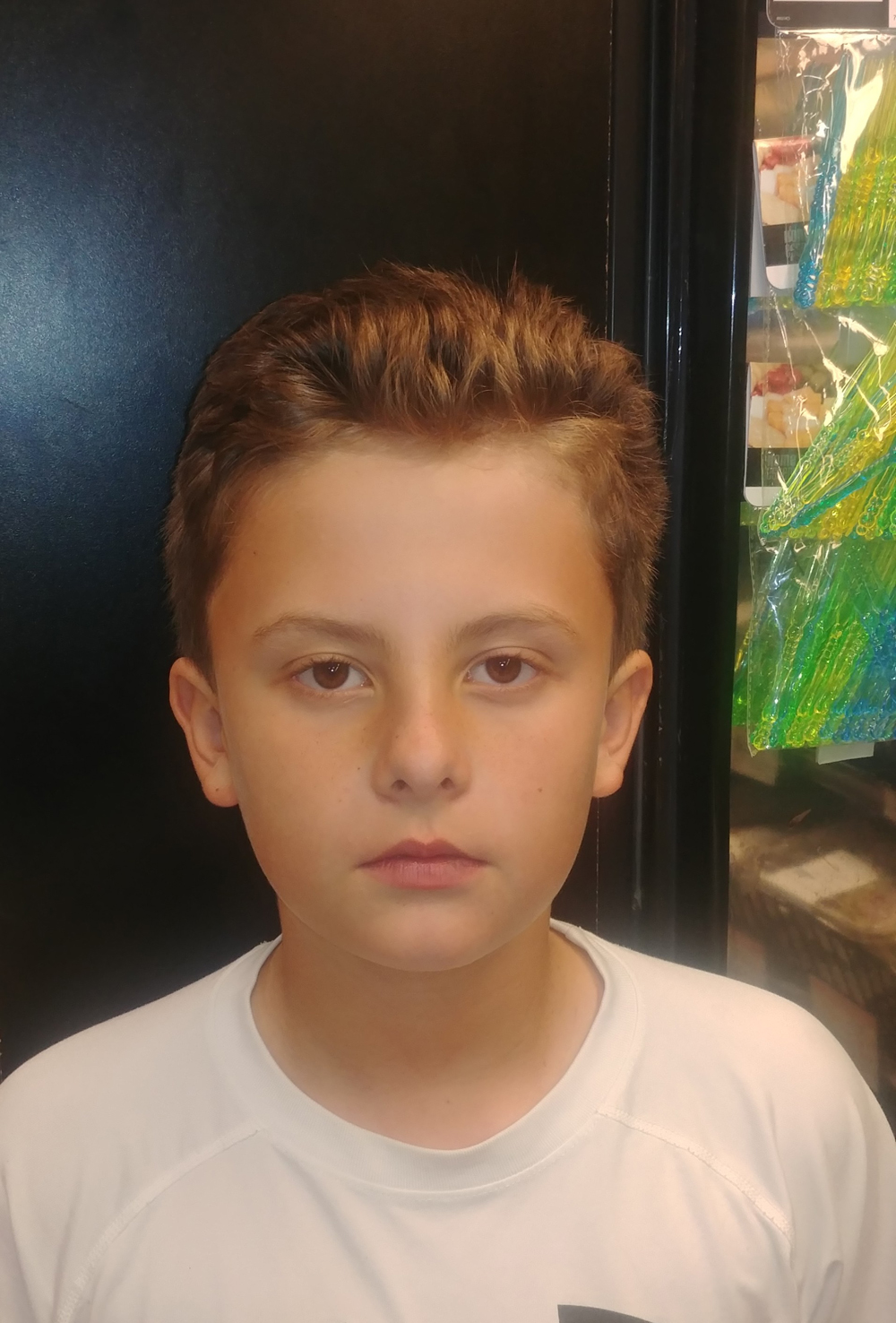 I would make one about video games with a place for people to try them out. I would definitely have some consoles and PCs and it should be called Ryan's Videogames and Consoles.   Ryan  Age 9