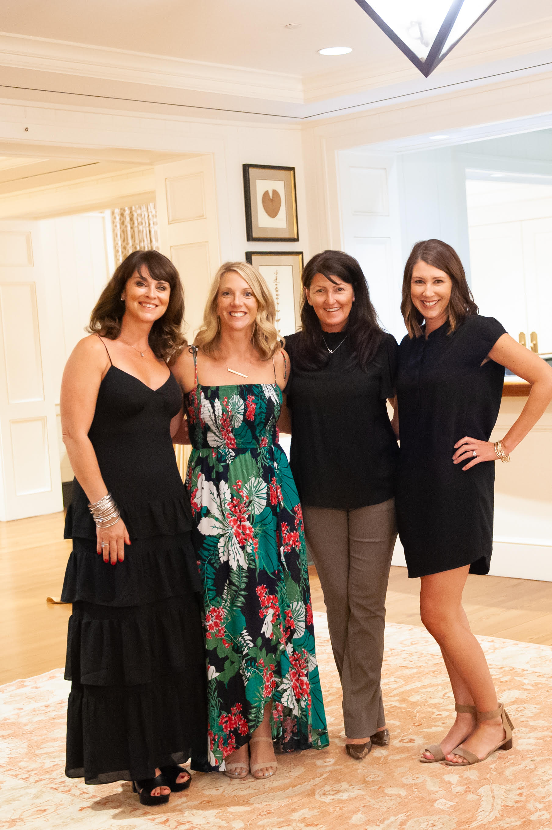 Tricia Peterson, Lindsey Romberg, Keri Seay, and Angie Esposito  all with Island House Real Estate.