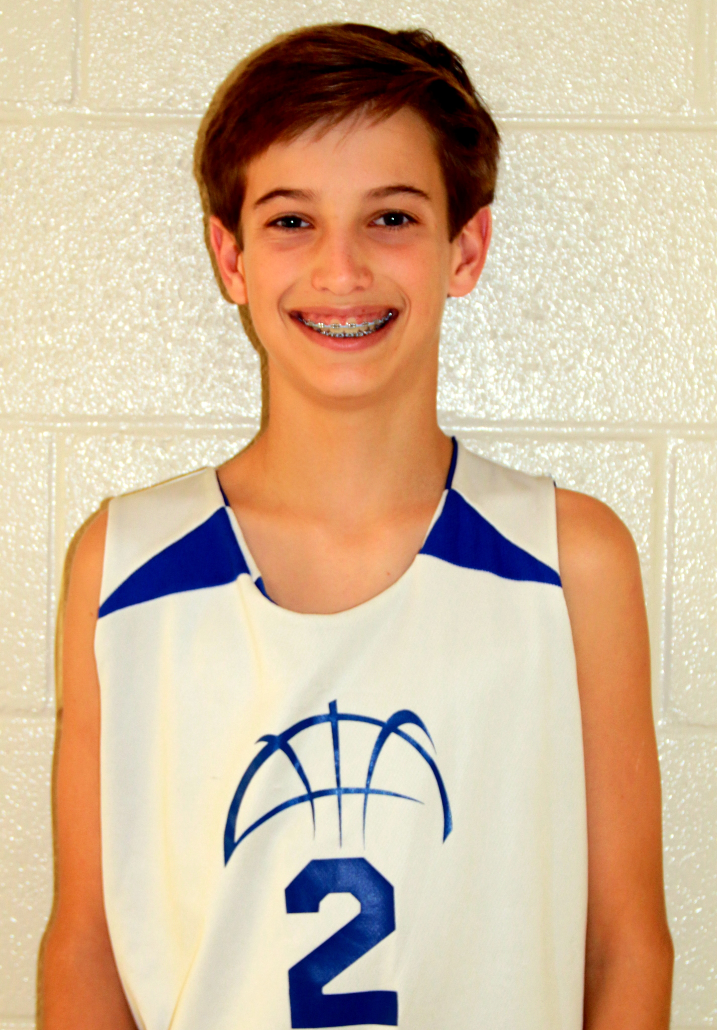 "WILSON BROOKES 7th grade boys  ""Wilson led the team in hustle, determination and scoring this week."" - Coach Wes Western"