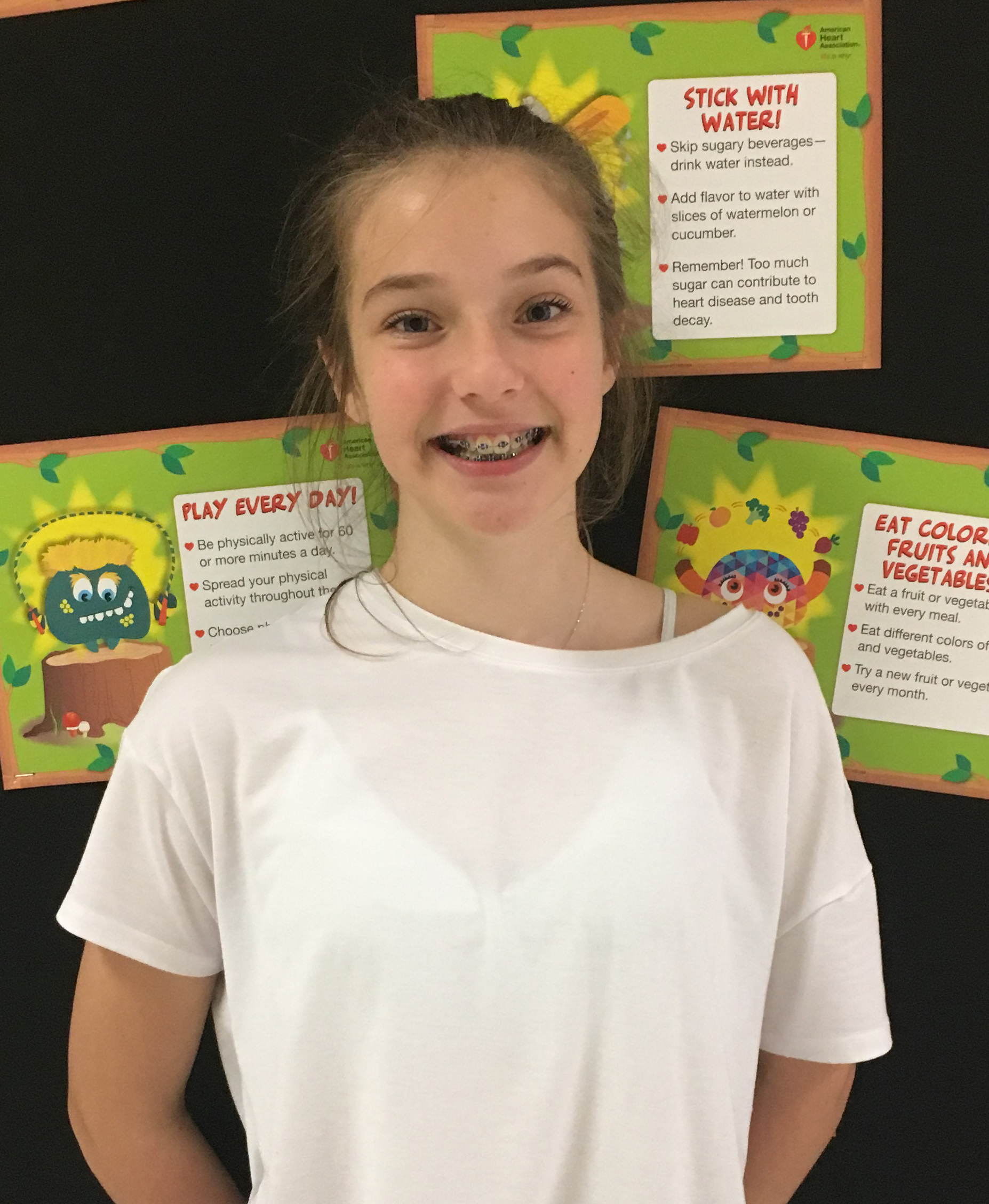 It's not healthy to be staring at the screen for a long time. Kids should be exercising. I recently started spending a lot more time outside – running and walking my dogs - instead of just sitting in front of a screen. I feel so much better!  Anna Age 12