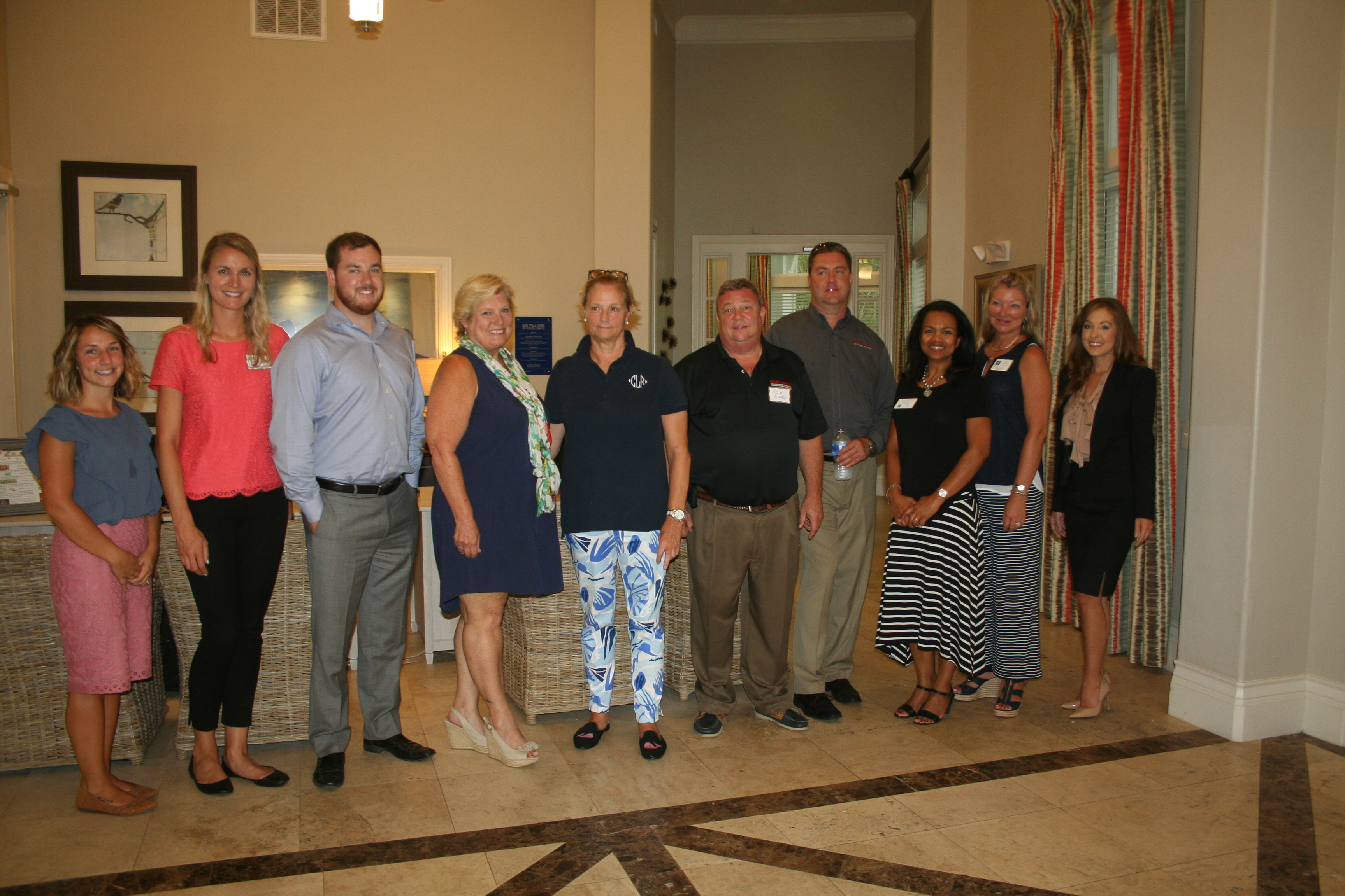The DIBA Block Party at Greystar's Daniel Island Village on June 29 was sponsored by Chase Payne of Payne Law Firm, Ken Good of Palmetto Outdoor Kitchens, Kevin Smith of ServPro, Nellie Lucado of Monograms Daniel Island and Summit Place of Daniel Island.