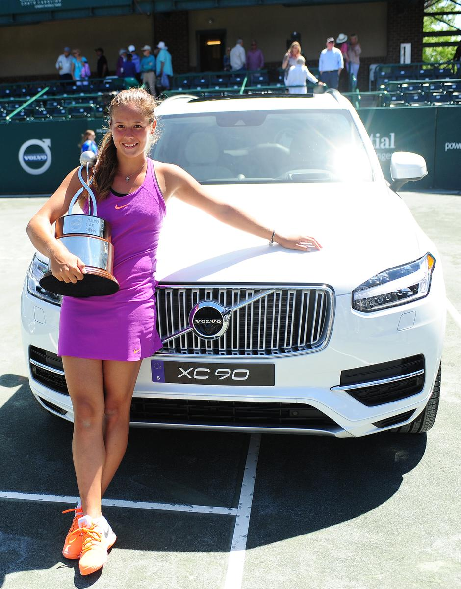 Volvo Car Open Champion Daria Kasatkina To Defend Her Title In 2018
