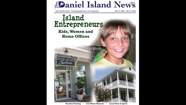 Island entrepreneurs were featured in the July 15, 2004 edition.