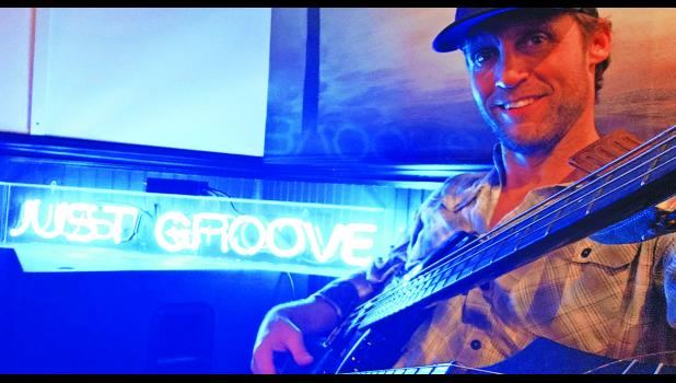 "Rob Corbett wants everyone to ""Just Groove"" at Wasabi, August 2."
