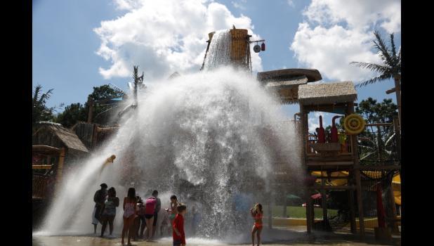 Fun at the water park!