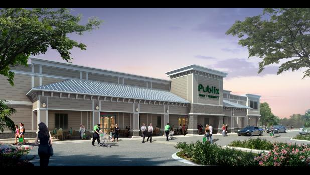 The Clements Ferry Road corridor's new Publix grocery store will officially open its doors to customers on July 31.