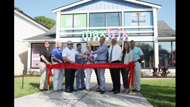 Daniel Island Residents Stephen And Anne Jensen Celebrated The Grand  Opening Of Their New Mount Pleasant Store   Matrix Kids Rooms U2013 With  Representatives Of ...